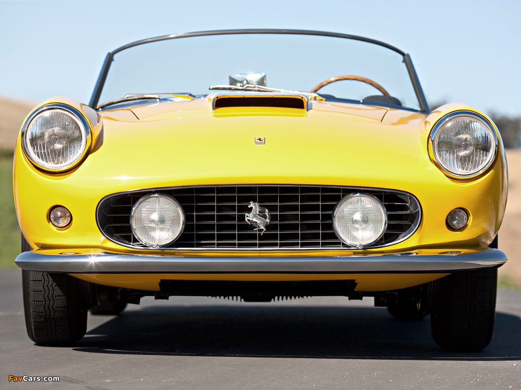 Photos Of Ferrari 250 Gt Swb California Spyder Open