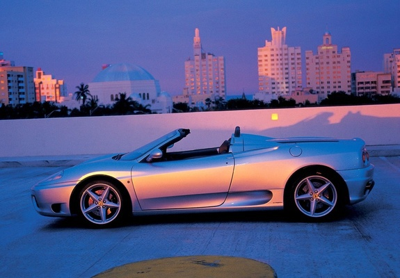 Download / Preview - Images of Ferrari 360 Spider 2000–05