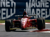 Pictures of Ferrari 412 T2 1995