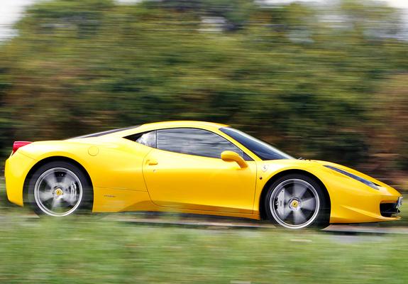 Wallpapers Of Ferrari 458 Italia Uk Spec 2009 1280x960