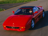 Wallpapers of Ferrari F355 GTS 1994–99