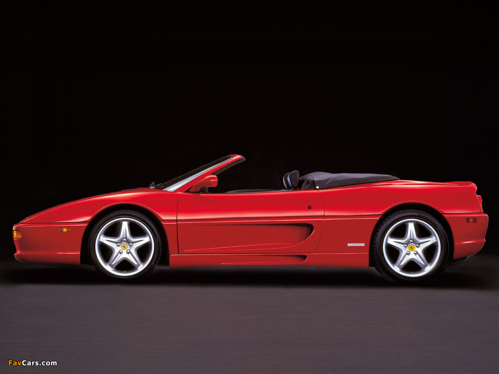 ferrari f355 spider wallpaper - photo #5