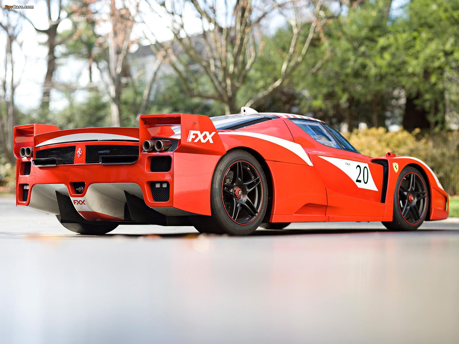Ferrari FXX Evoluzione 2007–08 pictures (1600 x 1200)