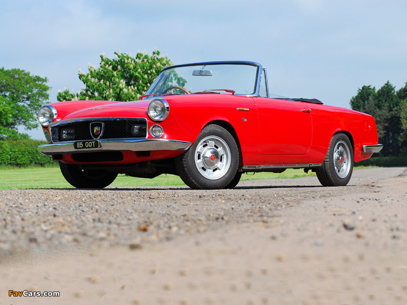 Wallpapers Of Abarth Fiat 2200 Spider 1960 61 800x600