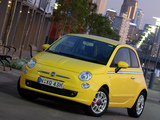 Fiat 500 Sport AU-spec 2008–12 photos