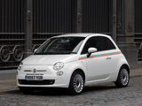 Fiat 500 UK-spec 2008 photos