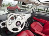Fiat 500C Lounge US-spec 2011 images