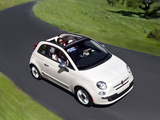 Fiat 500C Lounge US-spec 2011 pictures