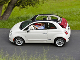 Images of Fiat 500C Lounge US-spec 2011