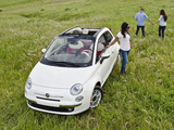 Pictures of Fiat 500C Lounge US-spec 2011