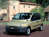 Fiat Multipla 1999–2001 photos