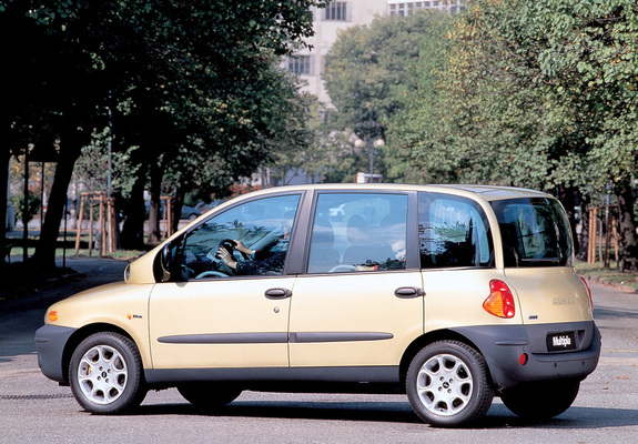 wallpapers of fiat multipla 1999 2001. Black Bedroom Furniture Sets. Home Design Ideas