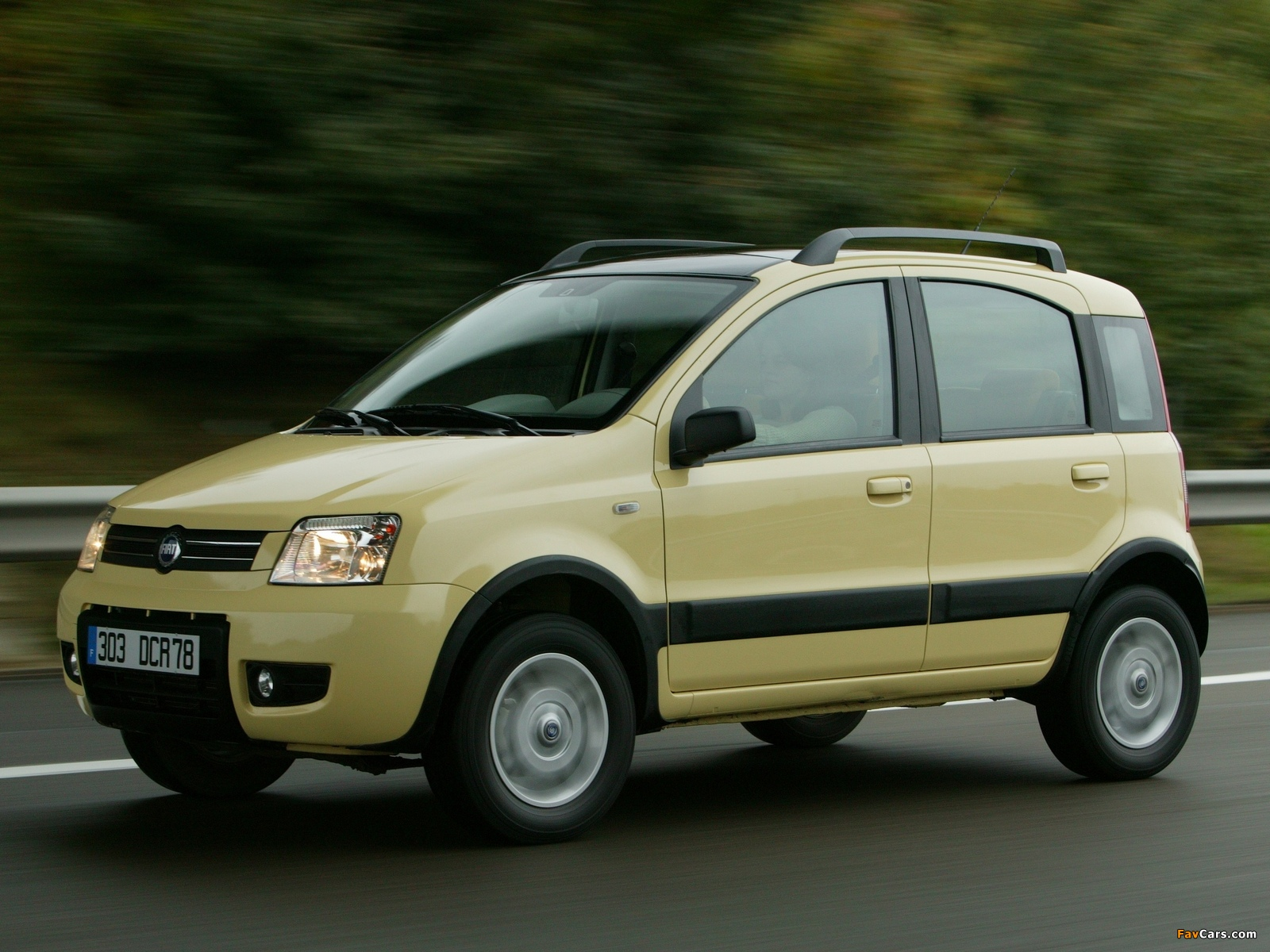 fiat panda 4x4 climbing 169 2004 images 1600x1200. Black Bedroom Furniture Sets. Home Design Ideas