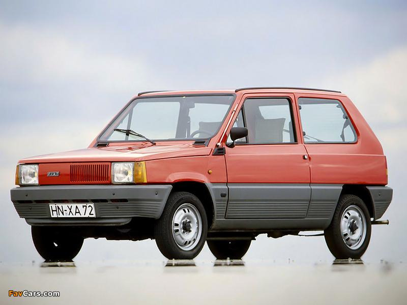 Photos of Fiat Panda 45 (141) 1980–84 (800 x 600)