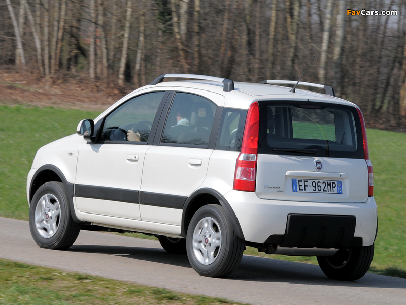 wallpapers of fiat panda 4x4 climbing 169 2009 12 800x600. Black Bedroom Furniture Sets. Home Design Ideas