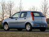 Fiat Punto 5-door ZA-spec (188) 2003–05 images