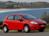 Fiat Punto 5-door AU-spec (199) 2006–09 wallpapers