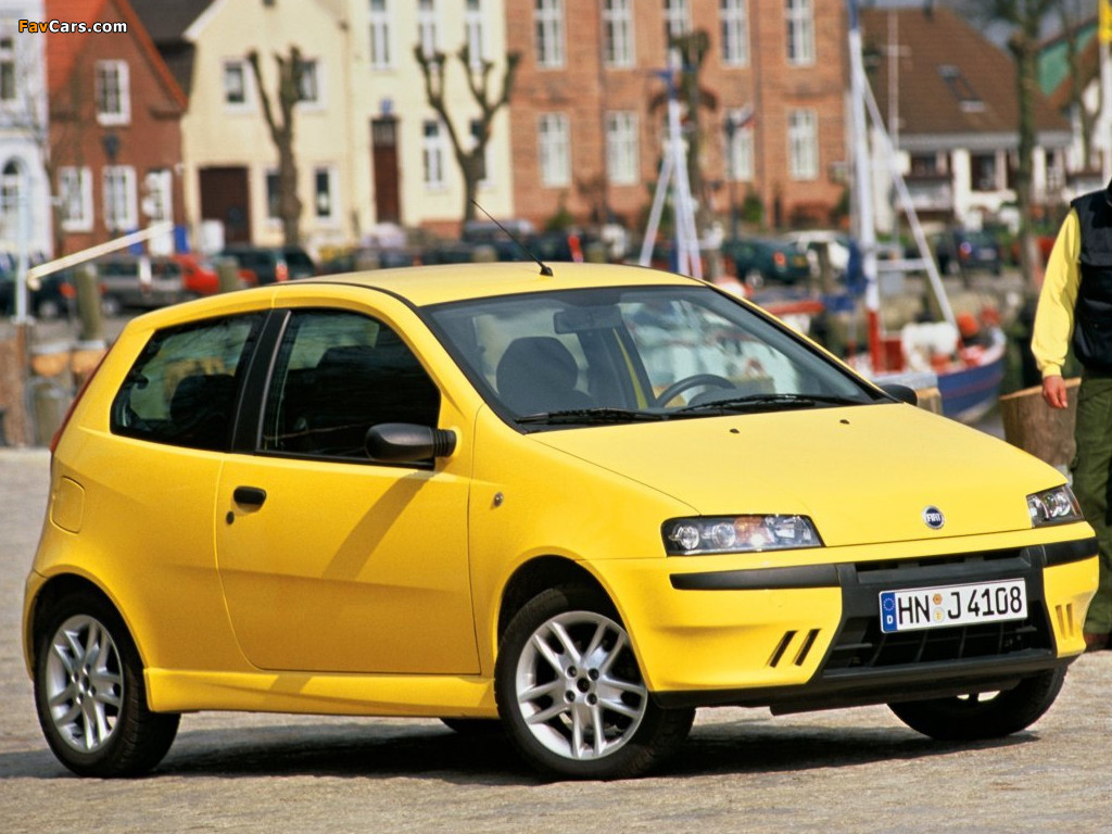 Wallpapers Of Fiat Punto Sporting 188 1999 2003 1024x768