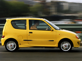Fiat Seicento Sporting Abarth UK-spec 1998–2001 images