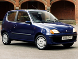 Fiat Seicento UK-spec 1998–2001 wallpapers