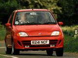 Fiat Seicento Sporting UK-spec 1998–2001 wallpapers