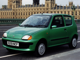Photos of Fiat Seicento UK-spec 1998–2001