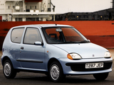 Pictures of Fiat Seicento UK-spec 1998–2001
