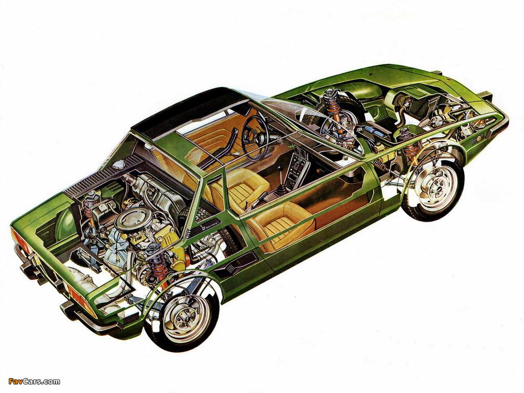 Fiat X1 9 >> Fiat X1/9 (128) 1972–78 wallpapers (1024x768)