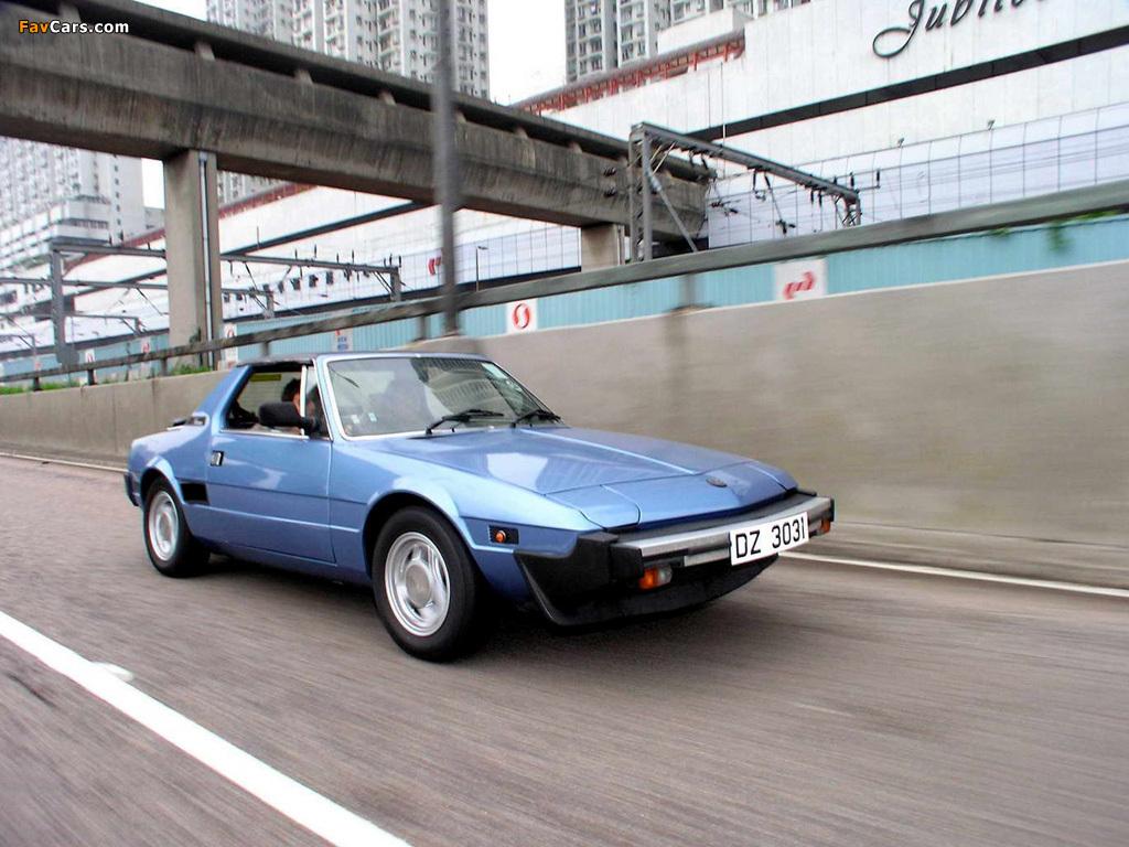 Bertone X1 9 128 1982 87 Photos 1024x768