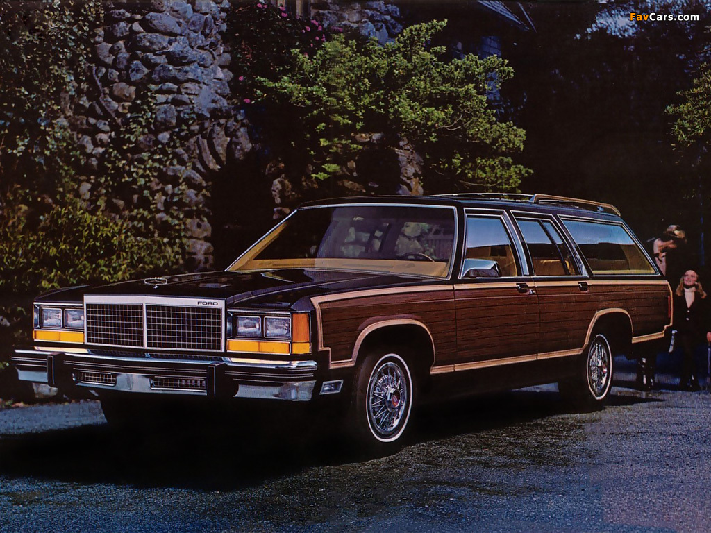 Photos of ford ltd country squire station wagon 1980 (1024 x 768)