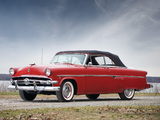 Ford Crestline Sunliner Convertible Coupe 1954 images