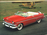 Ford Crestline Sunliner Convertible Coupe 1954 wallpapers