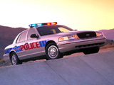 Pictures of Ford Crown Victoria Police Interceptor 1998–2011