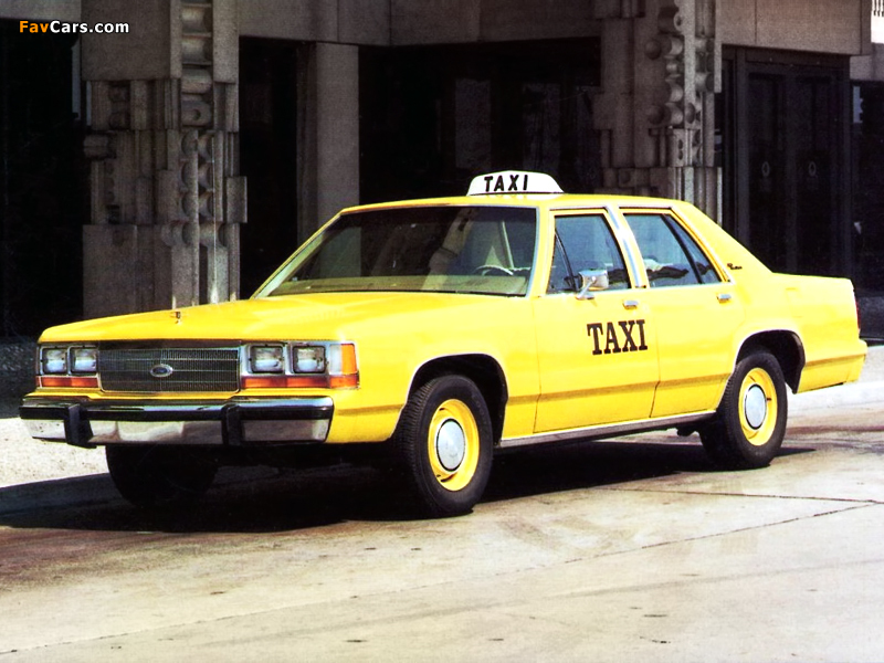 1980 Ford Crown Victoria Taxi