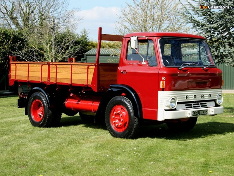 Pictures of Ford D-Series Tipper 1965–76 (800 x 600)