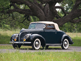 Pictures of Ford V8 Deluxe Convertible Coupe 1938