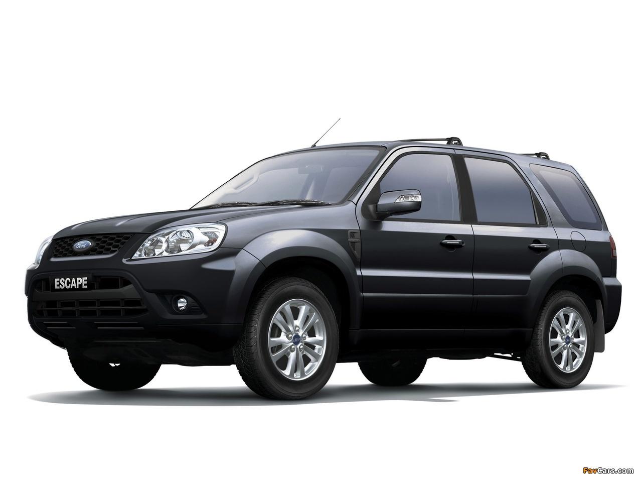 Ford Escape TW-spec 2010 pictures (1280x960)