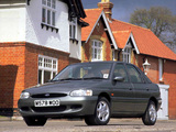 Photos of Ford Escort Ghia X 5-door Hatchback UK-spec 1996–98