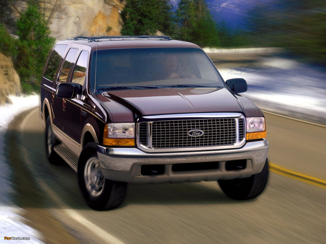 Ford Excursion Limited 1999 2004 Pictures 1280x960