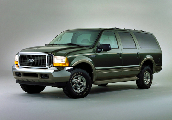 Ford Excursion Limited 1999 2004 Pictures 640x480
