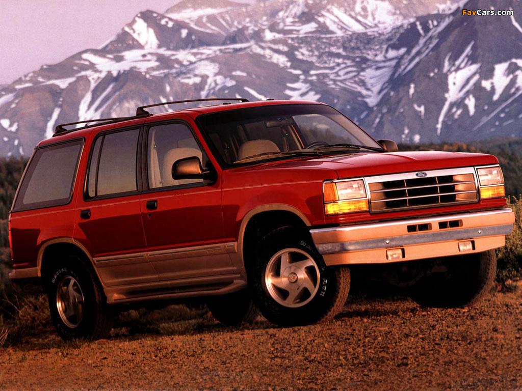 ford explorer, 1990