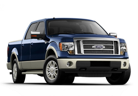 Ford F150 King Ranch >> Ford F-150 King Ranch SuperCrew 2010–12 photos (1600x1200)