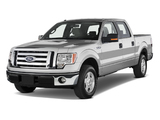Images of Ford F-150 XLT SuperCrew 2008–11