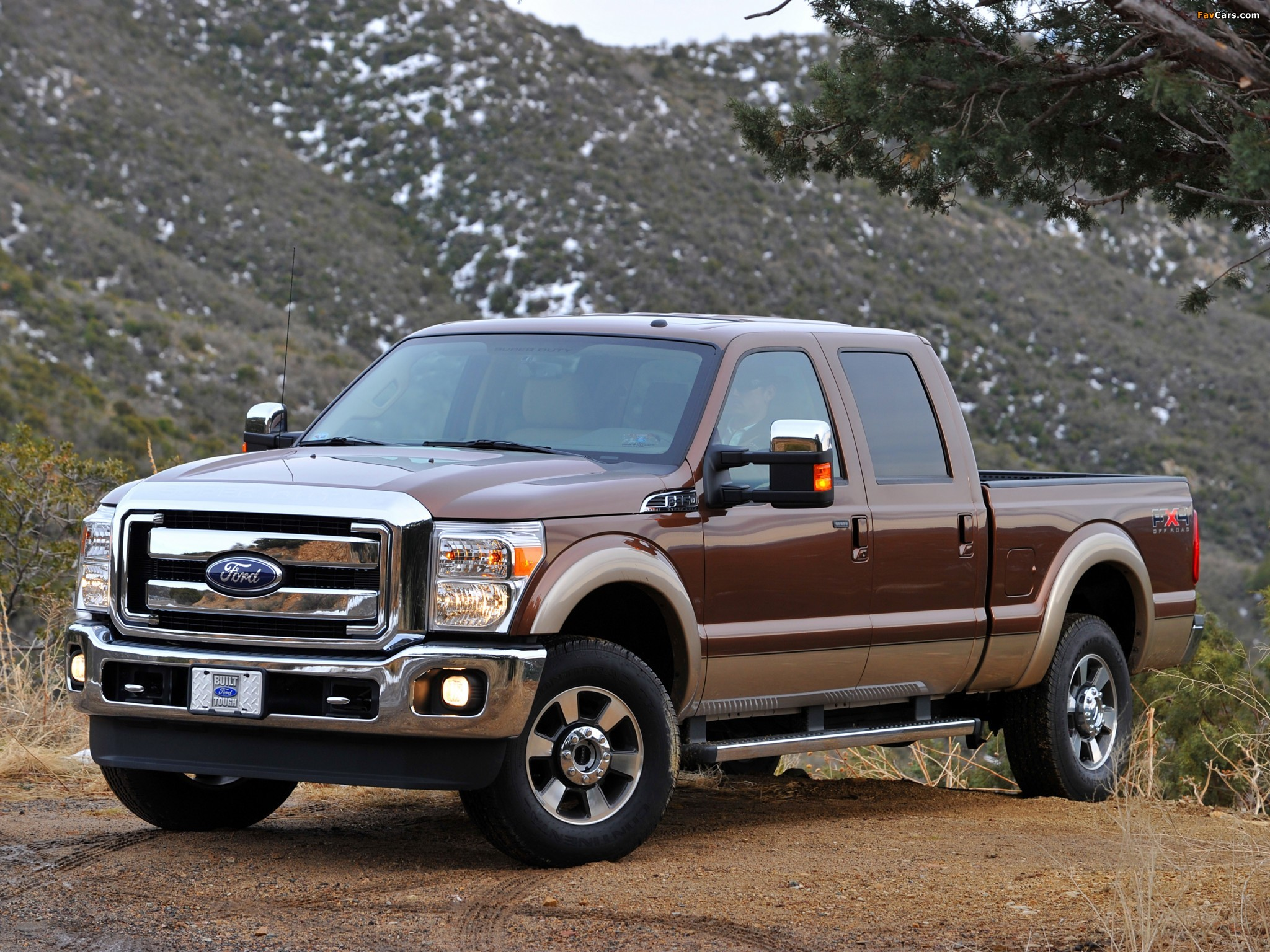 Ford F-350 Super Duty Crew Cab 2010 wallpapers (2048 x 1536)