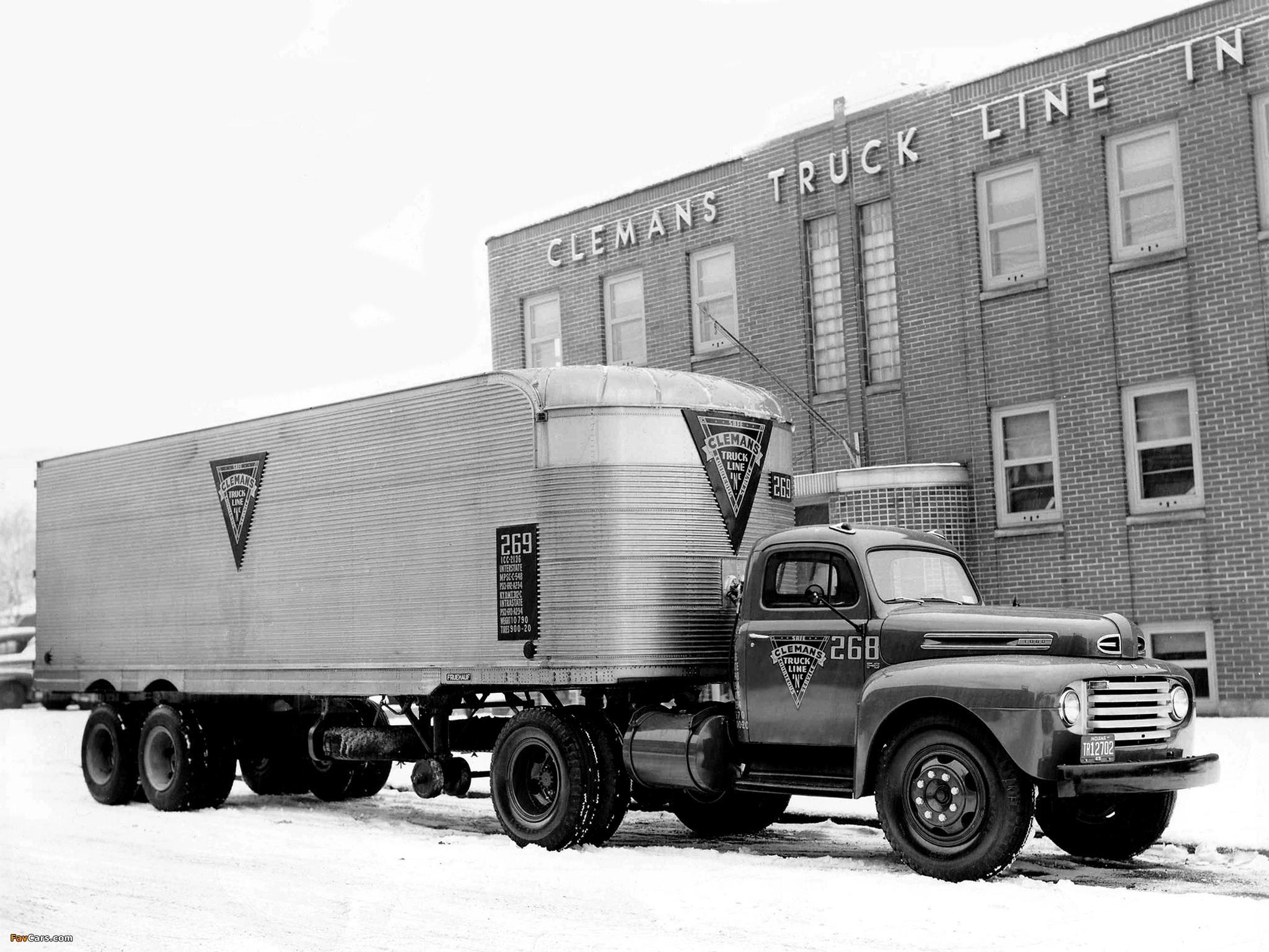 1948 Ford Truck Semi F 8 194850 Wallpapers 2048x1536