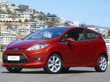Ford Fiesta 3-door ZA-spec 2008–13 pictures