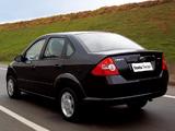 Images of Ford Fiesta Sedan 2004–07