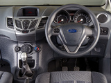 Ford Fiesta 3-door ZA-spec 2008–13 wallpapers