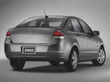 Ford Focus Sedan 2007–10 pictures