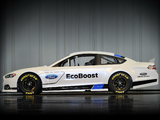 Photos of Ford Fusion NASCAR Race Car 2012